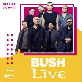 Bush and Live