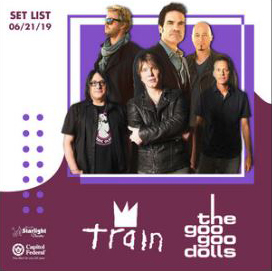 Train and Goo Goo Dolls
